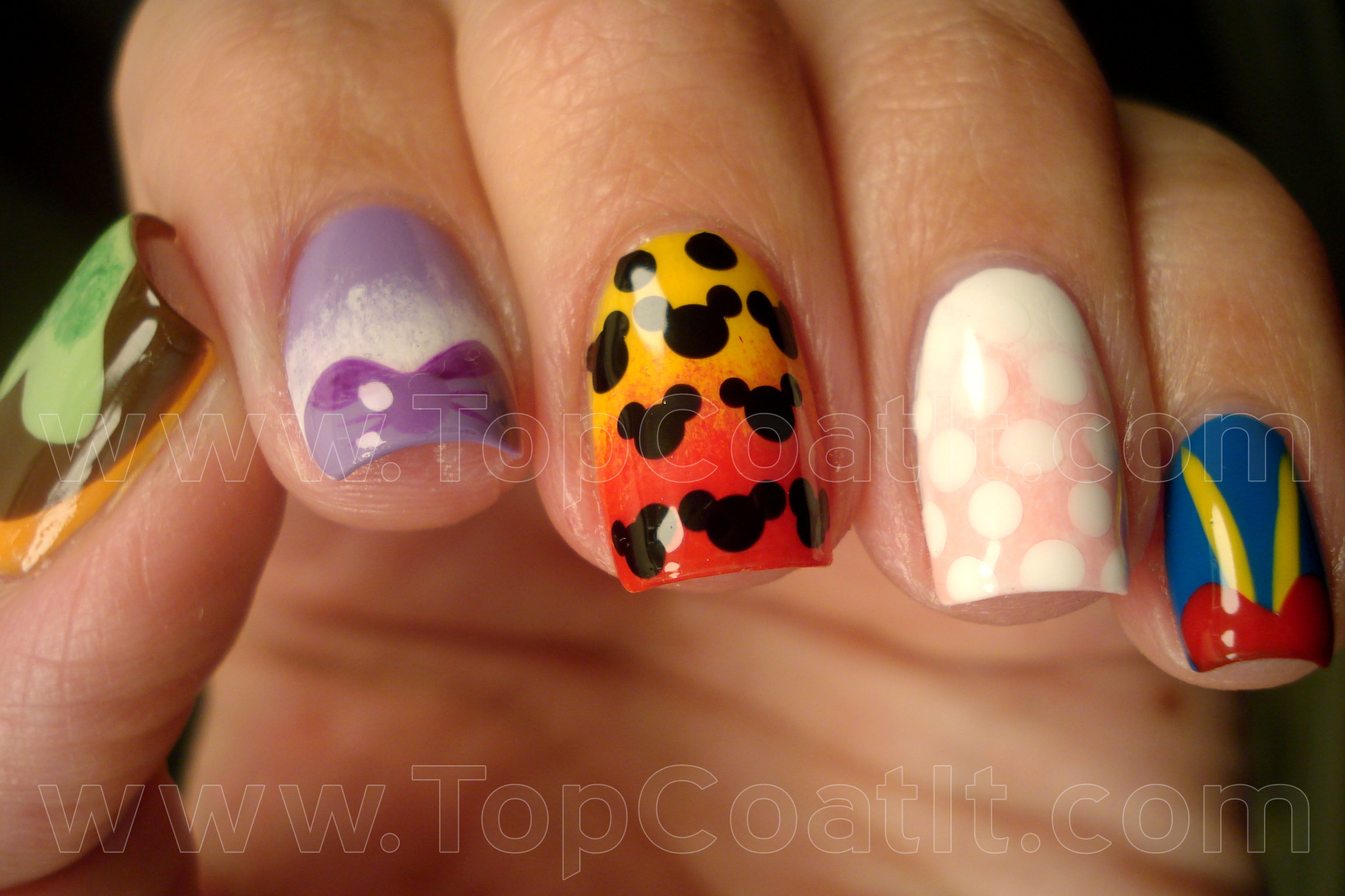 Mickey Mouse Clubhouse | Top Coat It